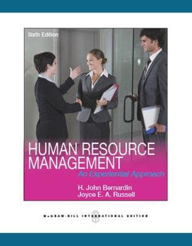 9780071326186: Human Resource Management (Asia Higher Education Business & Economics Management and Organization)