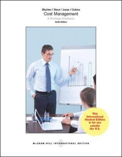 9780071326193: Cost Management: A Strategic Emphasis