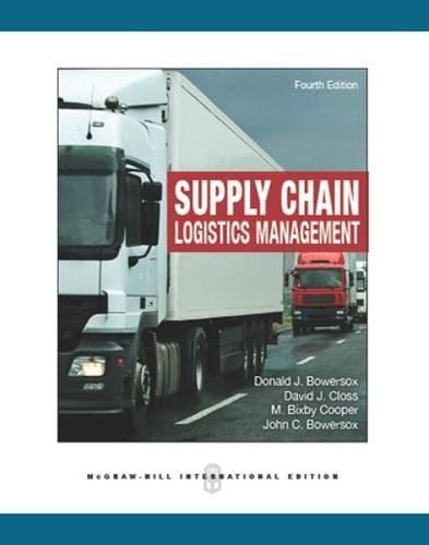 Supply Chain Logistics Management: Bowersox, Donald J.;