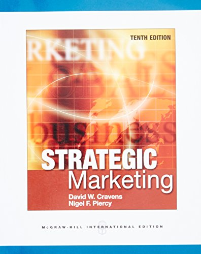 9780071326230: Strategic Marketing (Int'l Ed)
