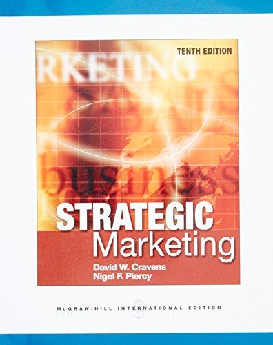 9780071326230: Strategic Marketing (Int'l Ed)