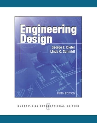 George Dieter Linda Schmidt Engineering Design Abebooks