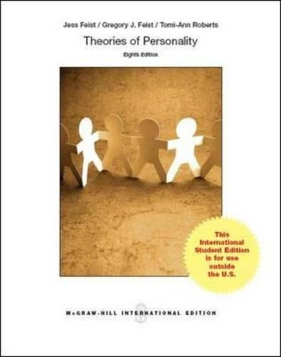 9780071326261: Theories of Personality (Int'l Ed)