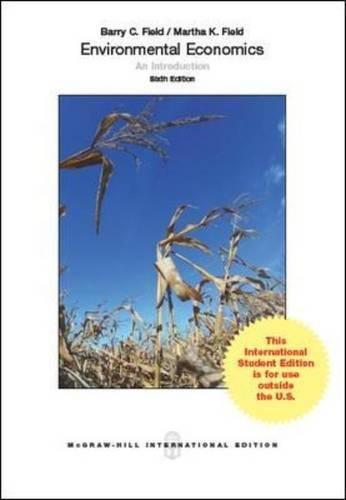 9780071326278: Environmental Economics (Int'l Ed)