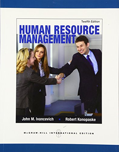 9780071326339: Human Resource Management (Int'l Ed) (Asia Higher Education Business & Economics Management and Organization)
