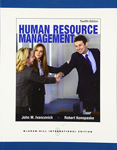 9780071326339: Human Resource Management (Int'l Ed)