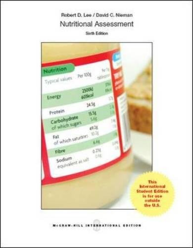 9780071326360: Nutritional Assessment (Int'l Ed)