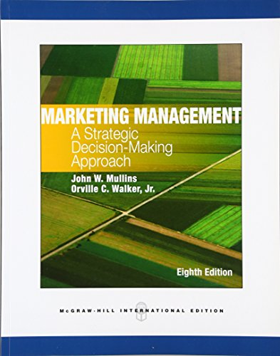 9780071326377: Marketing Management: A Strategic Decision-Making Approach (Int'l Ed)