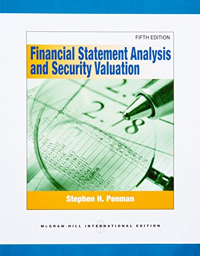 Financial Statement Analysis and Security Valuation: ENMAN