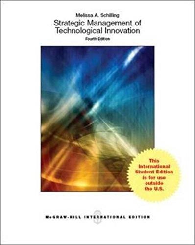 9780071326445: Strategic Management of Technological Innovation (Int'l Ed)