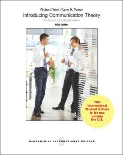 9780071326476: Introducing Communication Theory Analysis and Application