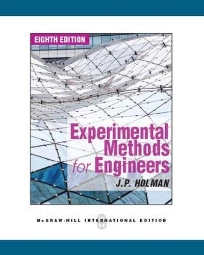 9780071326483: Experimental Methods for Engineers (Int'l Ed)