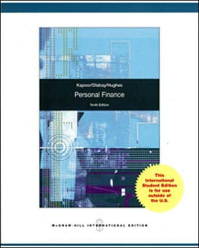 9780071327657: Personal Finance