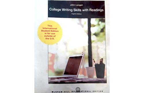 9780071327664: College Writing Skills with Readings, 8th Edition