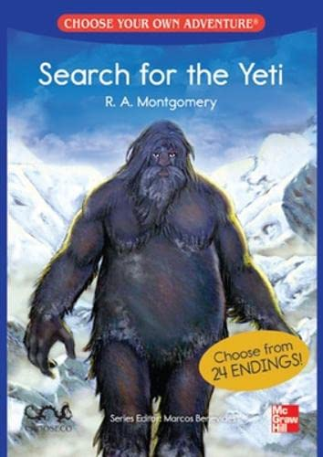 CHOOSE YOUR OWN ADVENTURE: SEARCH FOR THE YETI (Paperback): Montgomery