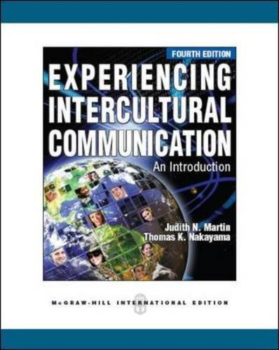 9780071327961: Experiencing Intercultural Communication: An Introduction