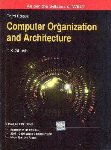 9780071329071: Computer Organization & Architecture (WBUT)