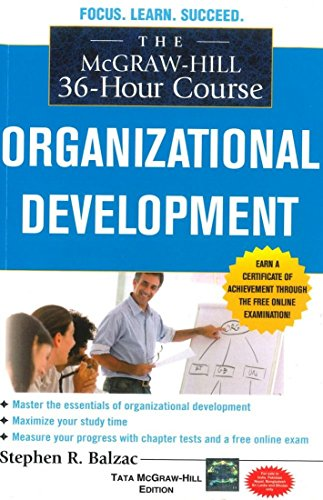 9780071331760: The McGraw-Hill 36-Hour Course : Organizational Development