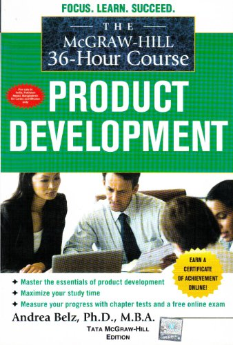 9780071331777: MH 36-Hour Course: Product Development