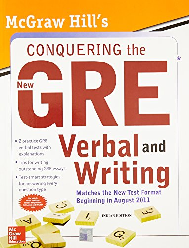 9780071331838: Mcgraw-Hill'S Conquering The New Gre Verbal And Writing