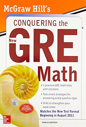 9780071331845: McGraw-Hill's Conquering the New GRE Math by Robert Moyer (Feb 8 2011)