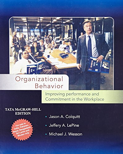 9780071332583: Organizational Behavior: Improving Performance and Commitment in the Workplace