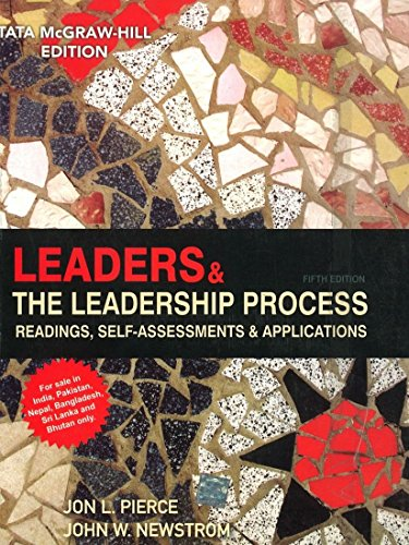 9780071332590: Leaders and the Leadership Process: Readings, Self-Assessments & Applications