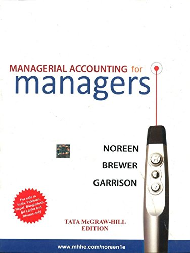9780071332606: Managerial Accounting For Managers