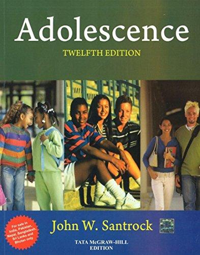 9780071332743: Adolescence 12Th Edition