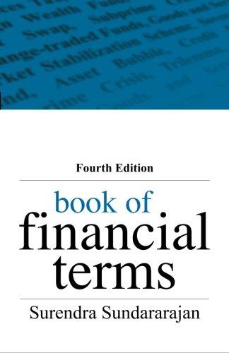 9780071332859: Book of Financial Terms, 4/e
