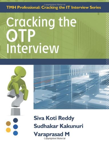 9780071332880: Cracking the QTP Interview