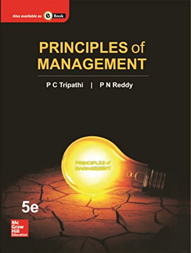 9780071333337: Principles of Management