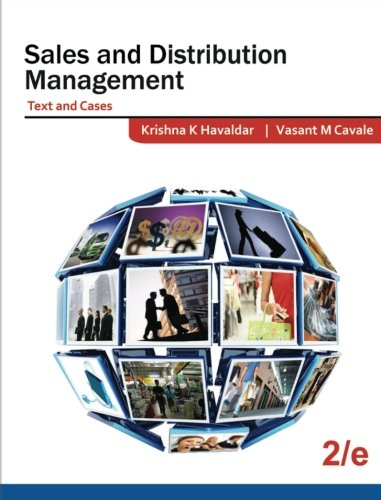 Sales and Distribution Management (Text and Cases): V M Cavale/