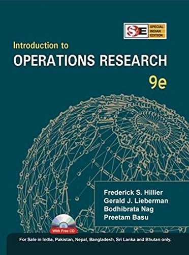 9780071333467: INTRODUCTION TO OPERATIONS RESEARCH, 9E
