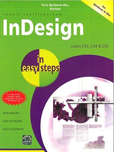 9780071333573: InDesign in easy steps covers CS3, CS4 & CS5