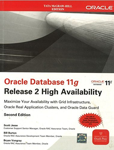 9780071333634: ORACLE DATABASE 11G RELEASE 2 HIGH AVAILABILITY