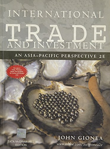 International Trade and Investment: John Gionea