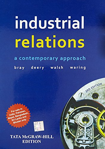 9780071333733: Industrial Relations 3Rd Edition