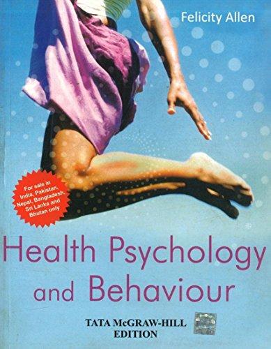 9780071333764: HEALTH PSYCHOLOGY AND BEHAVIOUR