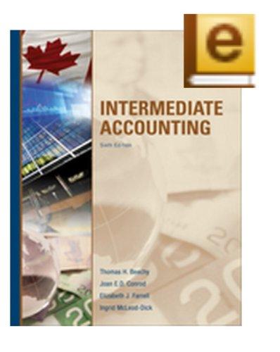 9780071339476: Intermediate Accounting (Volume One), Sixth Edition