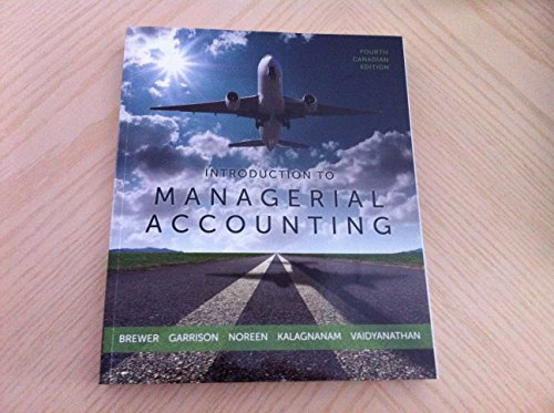 9780071339612: Introduction to Managerial Accounting