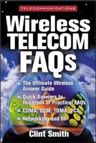 9780071341028: Wireless Telecommunications FAQs (McGraw-Hill Telecommunications)
