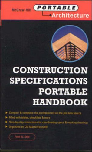 9780071341035: Construction Specs: Specifications Writing Portable Handbook