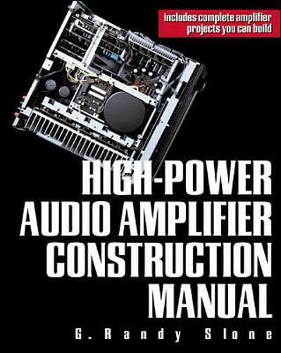 9780071341196: High-Power Audio Amplifier Construction Manual