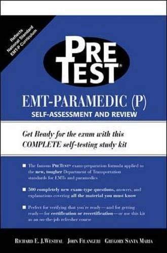 9780071341561: EMT-Paramedic (P) PreTest Self Assessment and Review