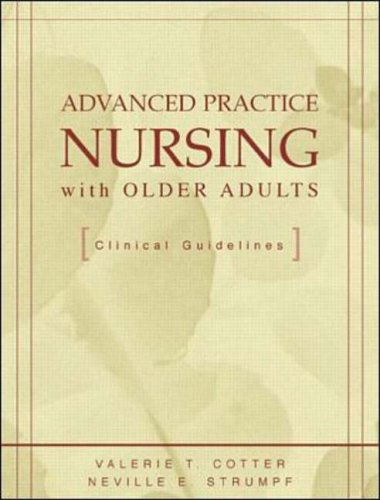 9780071341578: Advanced Practice Nursing with Older Adults: Clinical Guidelines