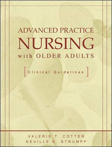 9780071341578: Advanced Practice nursing with older adults