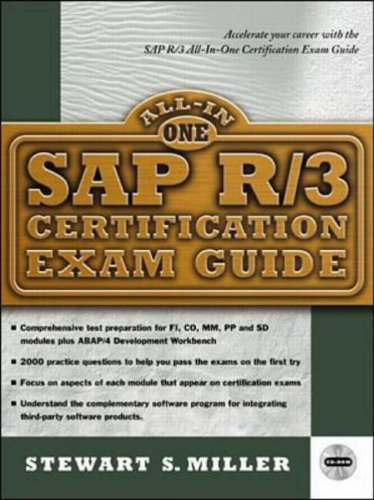 9780071341615: SAP R/3 Certification Exam Guide (All-in-one Certification)