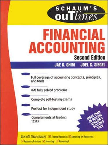 9780071341660: Schaum's Financial Accounting 2 Ed.