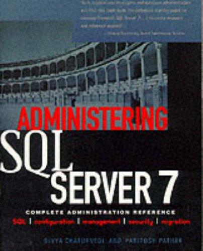 9780071341684: Administering SQL Server 7 (Windows NT Technical Expert)